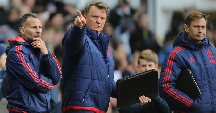 Louis van Gaal: Sacked as manager of Manchester United