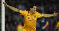 Luis Suarez: Scored two goals for European champions