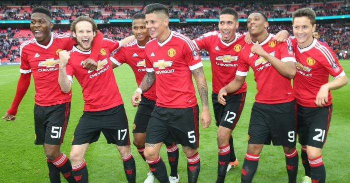 Man Utd: Celebrate the semi-final win over Everton
