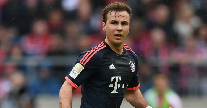Mario Gotze: Linked with Liverpool