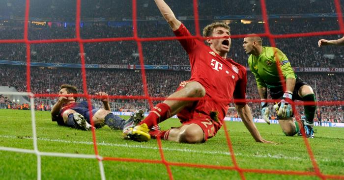Müller delight.