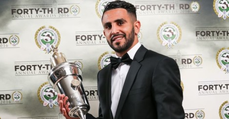 Riyad Mahrez: PFA Player of the Year can net at Manchester United