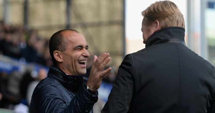 Ronald Koeman: Could succeed Roberto Martinez as Everton manager