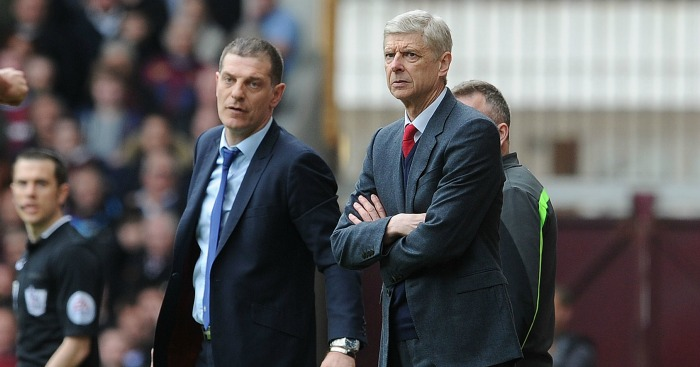 Slaven Bilic & Arsene Wenger: Contrasting fortunes