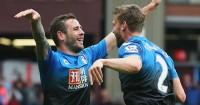 Steve Cook: Defender celebrates opening goal