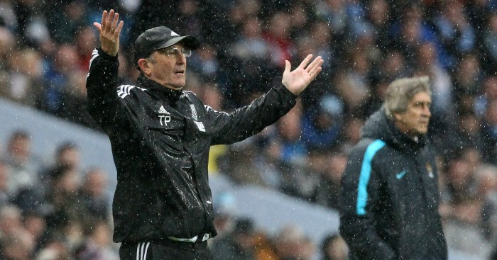 Tony Pulis: Felt West Brom should have had penalty at Manchester City