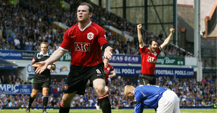 Memory Match: Everton v Manchester United, April 28, 2007 ...