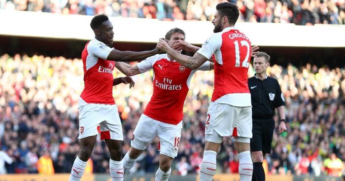 Danny Welbeck: Scored Arsenal's winner against Norwich City