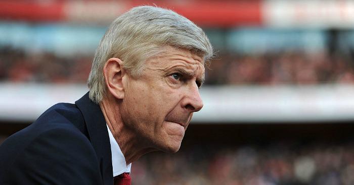 Arsene Wenger: On England's list