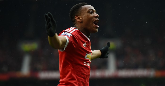 Anthony Martial: In demand