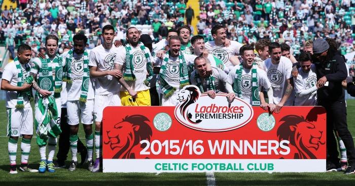 Celtic: Celebrate another league title
