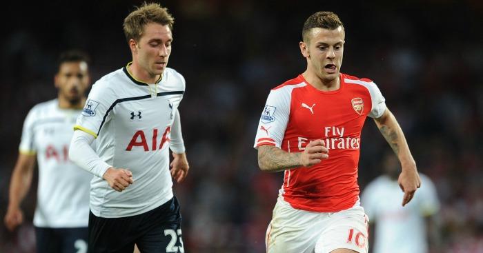 Jack Wilshere: Desperate to get one over Tottenham