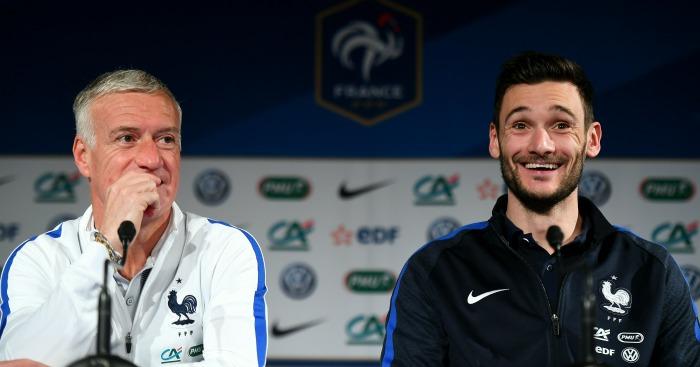 Didier Deschamps: Hugo Lloris is France's captain