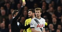 Eric Dier: One of nine Tottenham players booked at Chelsea