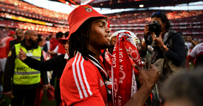 Renato Sanches: Taste for trophies at Benfica