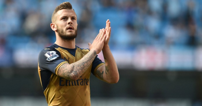 Jack Wilshere: Set to start for Arsenal against Aston Villa