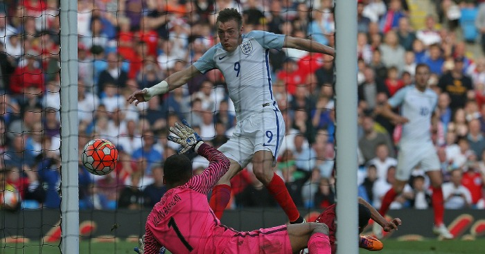 Jamie Vardy: Striker scores England winner