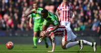 Jermain Defoe: Won penalty after Geoff Cameron challenge