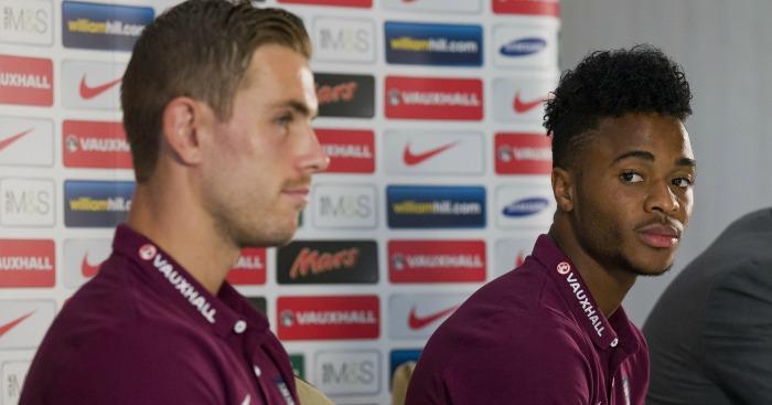 Jordan Henderson & Raheem Sterling: Not guaranteed to make final cut