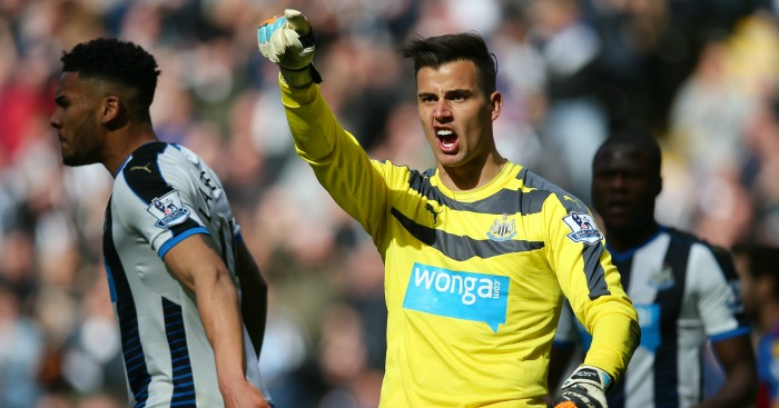 Karl Darlow: Saved penalty in Newcastle's win over Crystal Palace