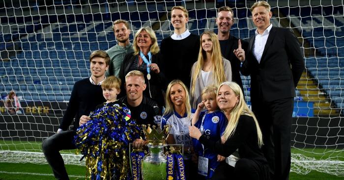 Kasper Schmeichel: Underlines family values