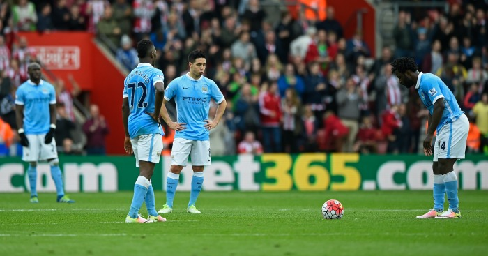 Manchester City: Warmed up for Real Madrid game with defeat