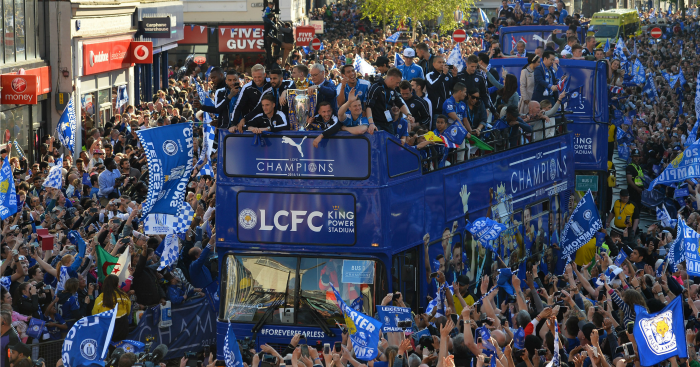 Leicester City: Top the table in sporting moments