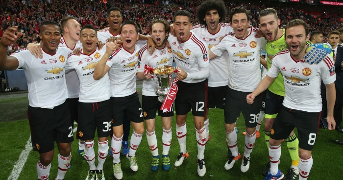 Manchester United: Winners of this season's cup
