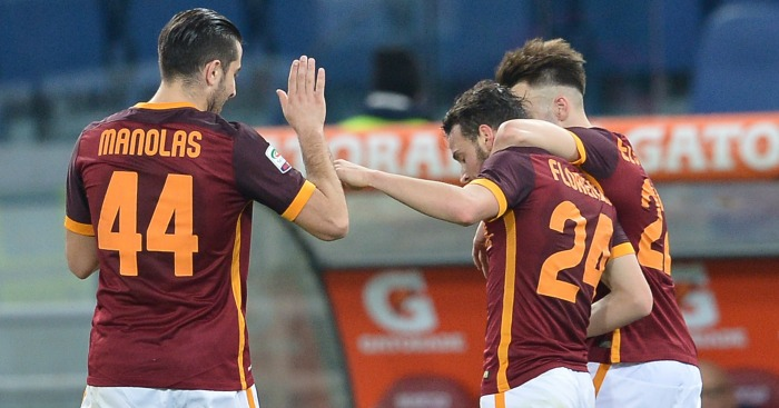Kostas Manolas and Alessandro Florenzi: Linked with United