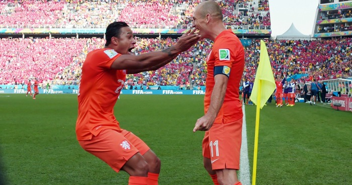 Arjen Robben: Gives vote of confidence to fellow Dutchman Memphis Depay