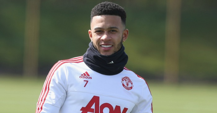 Memphis Depay: Admits first season at Manchester United didn't go as planned