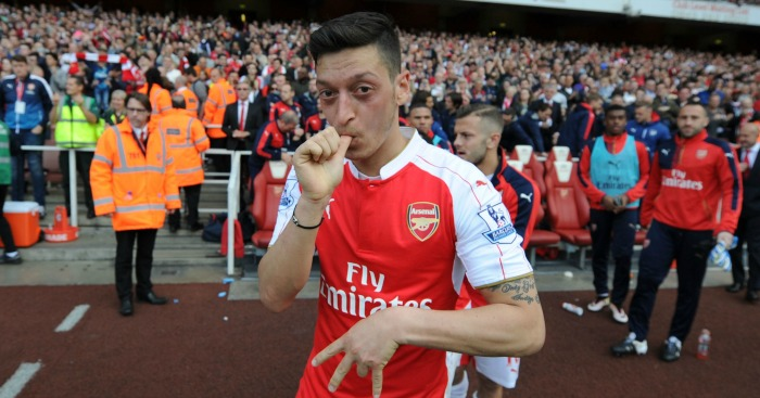 Mesut Ozil: Was the top assister in the Prem last season.