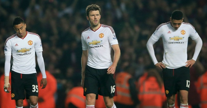 Michael Carrick: Said Manchester United needed to be cleverer
