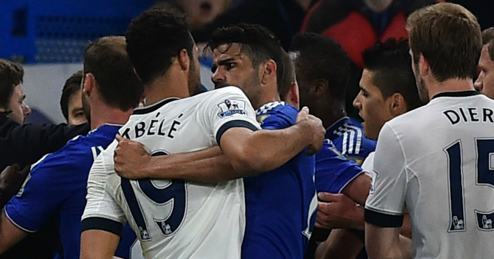 Mousa Dembele: Tangles with Diego Costa