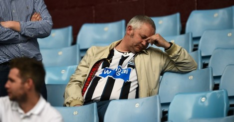 Newcastle United: Fans unimpressed with this season's screening