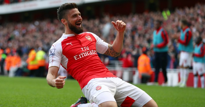 Olivier Giroud: Spending time on Arsenal bench