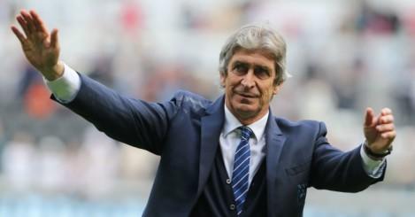 Manuel Pellegrini: Manager left Man City this summer