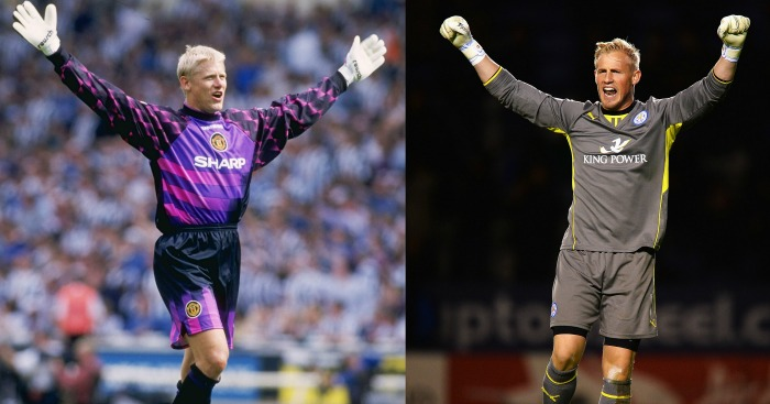 Kasper Schmeichel: Won first PL title at same age as father did
