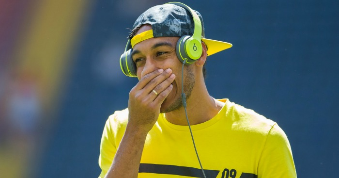 Pierre-Emerick Aubameyang: Turns back on possible Man City move