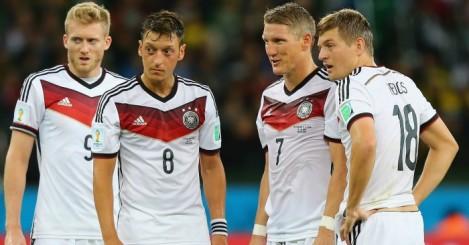 Mesut Ozil & Bastian Schweinsteiger: Both included