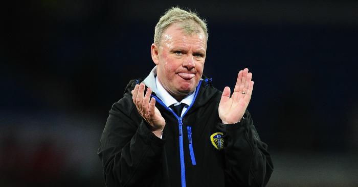 Steve Evans: Parts company with Leeds United