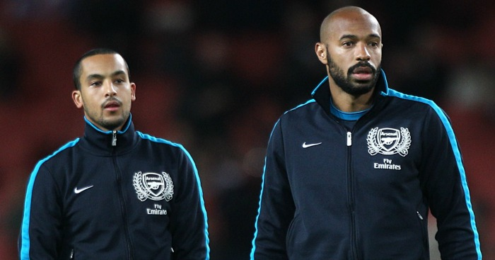 Thierry Henry: Wants Walcott to nail down favourite position