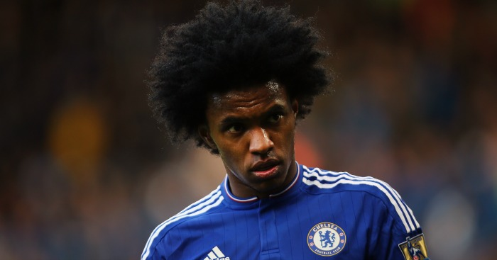 Willian: Winger would like to move to Old Trafford