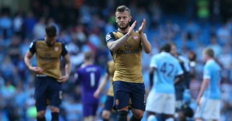 Jack Wilshere: Was a sub at Man City