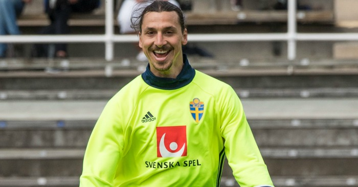 Zlatan Ibrahimovic: Linked with Manchester United, but won't join Malmo yet