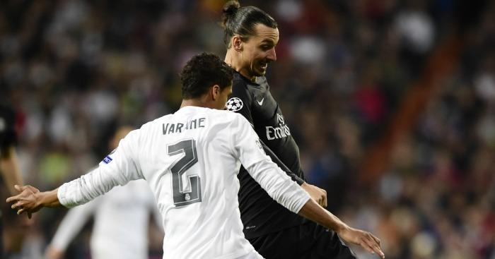 Zlatan Ibrahimovic & Raphael Varane: Could link up at United