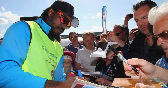 Chris Gayle: A legend with wood in his hand