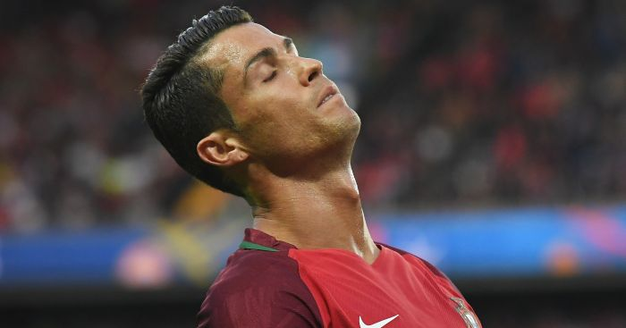 Cristiano Ronaldo: Missed 78th-minute penalty