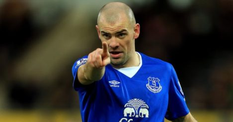 Darron Gibson: Had offers to leave Goodison Park