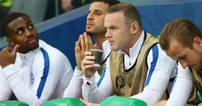 Wayne Rooney: Started on bench in England's final group game